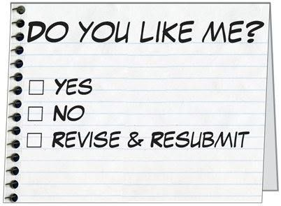 Revise and Resubmit.  Ugh.  Wait, Yay!